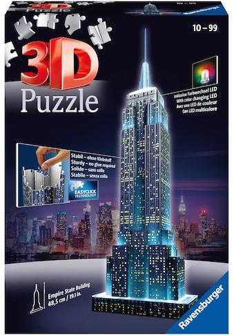 Ravensburger 3D-Puzzle »Empire State Building Night Edition«, Made in Europe, FSC® - schützt Wald - weltweit kaufen