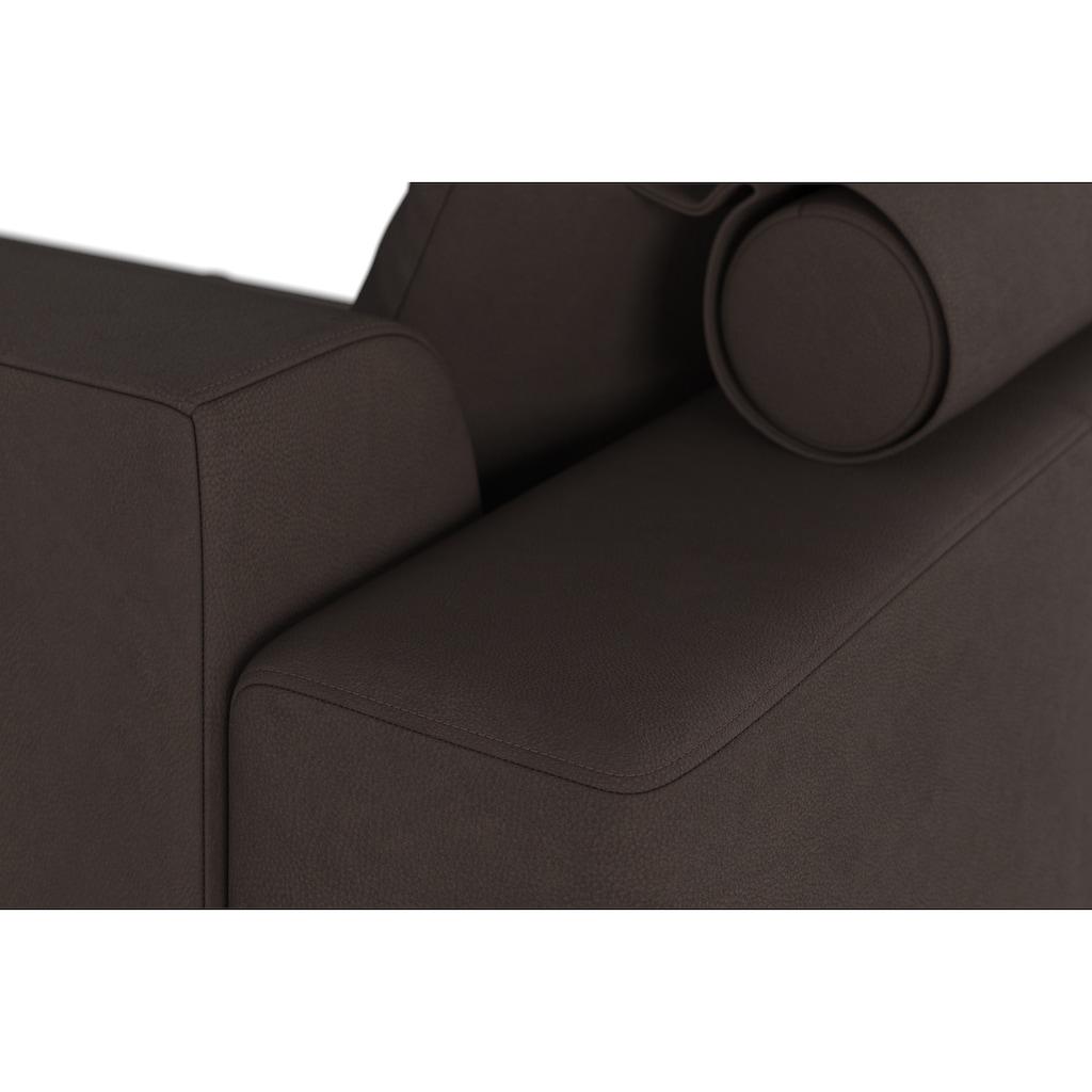 machalke® 3-Sitzer »groove«, mit GRATIS Ledertasche