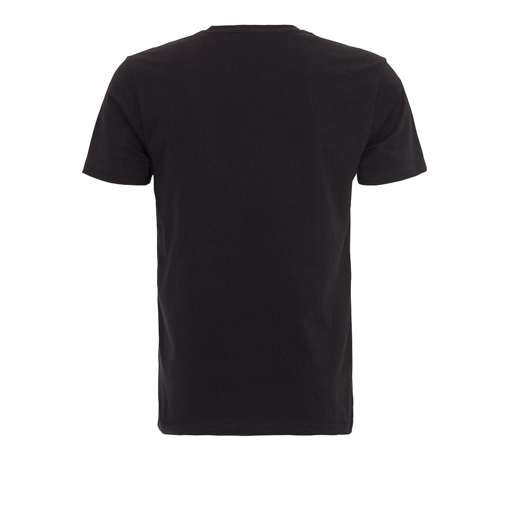 KingKerosin Print-Shirt, mit Front Print Devil Inside