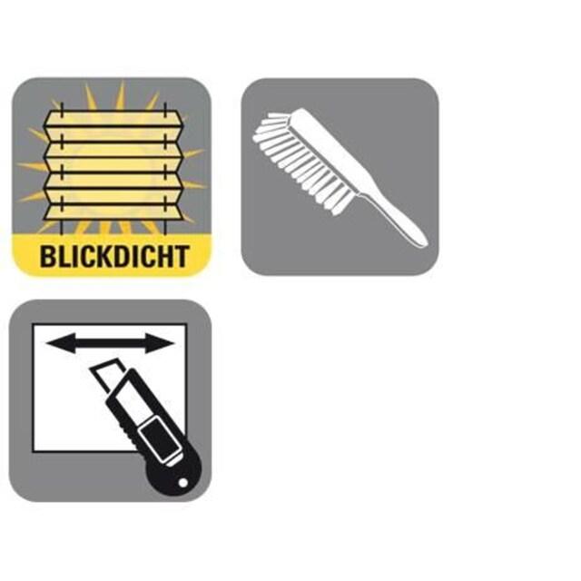 Wabenplissee, »EASYFIX Wabenplissee mit 2 Bedienschienen«, GARDINIA, Lichtschutz, ohne Bohren, verspannt