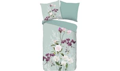 good morning Wendebettwäsche »Charlotte«, mit Blumen kaufen