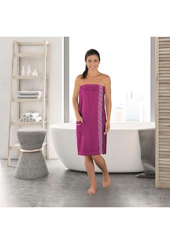 Schiesser Kilt »Rom Plus Size«, mit Streifen-Akzent kaufen