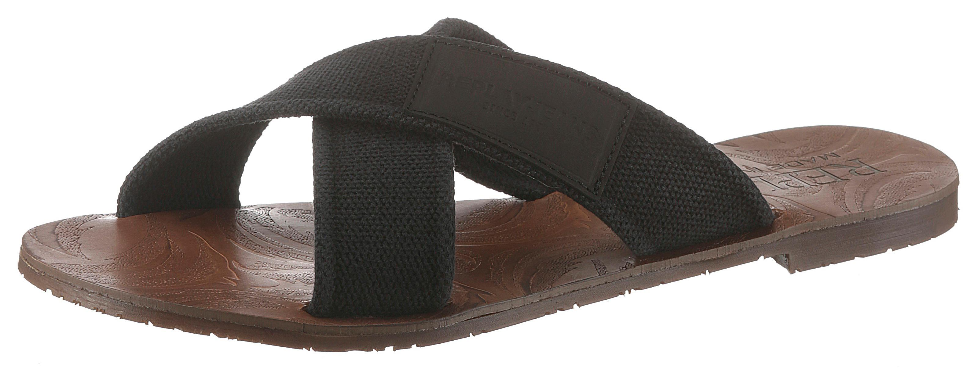 Replay Pantolette | Schuhe > Clogs & Pantoletten | Schwarz | Replay