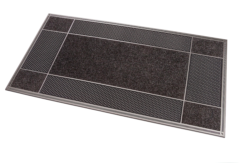 Fußmatte ET Clean Entrance CarFashion rechteckig Höhe 8 mm gepresst
