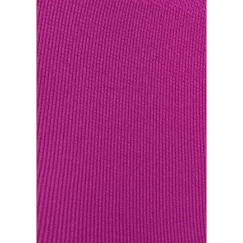 s.Oliver Bügel-Bandeau-Bikini, mit Raffung