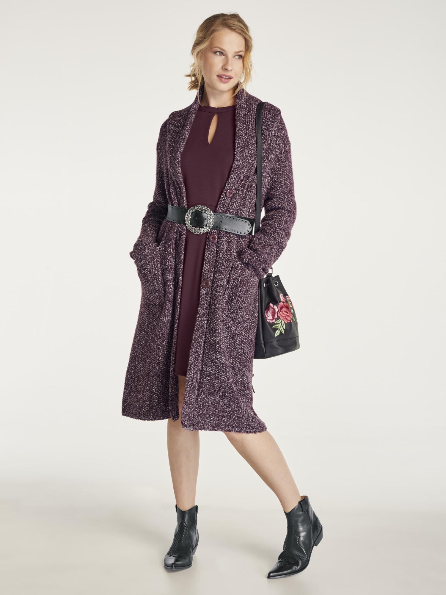 heine STYLE Jerseykleid mit Langarm