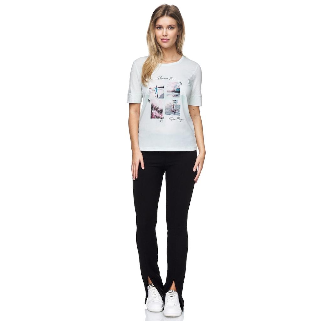 Decay T-Shirt, mit tollem Foto-Print