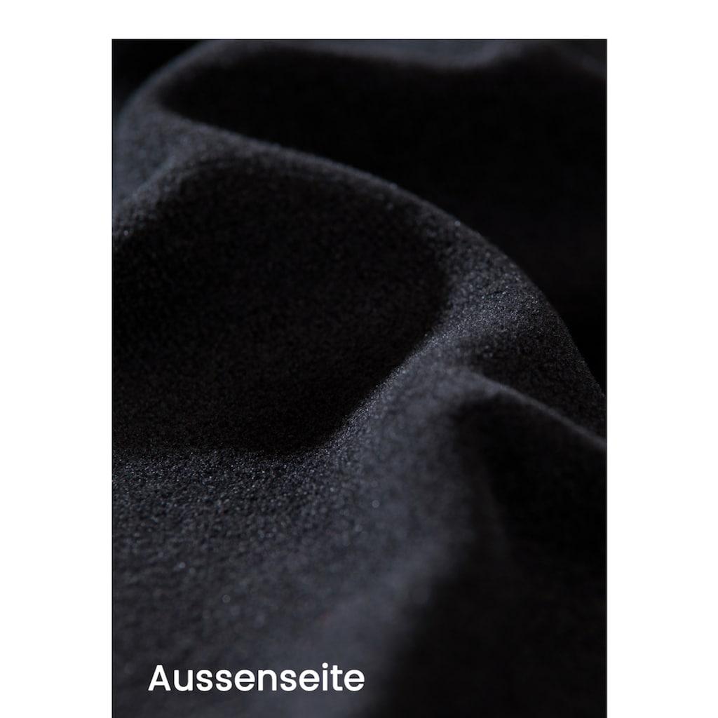 Trigema Fleece-Mützen-Schlauchschal