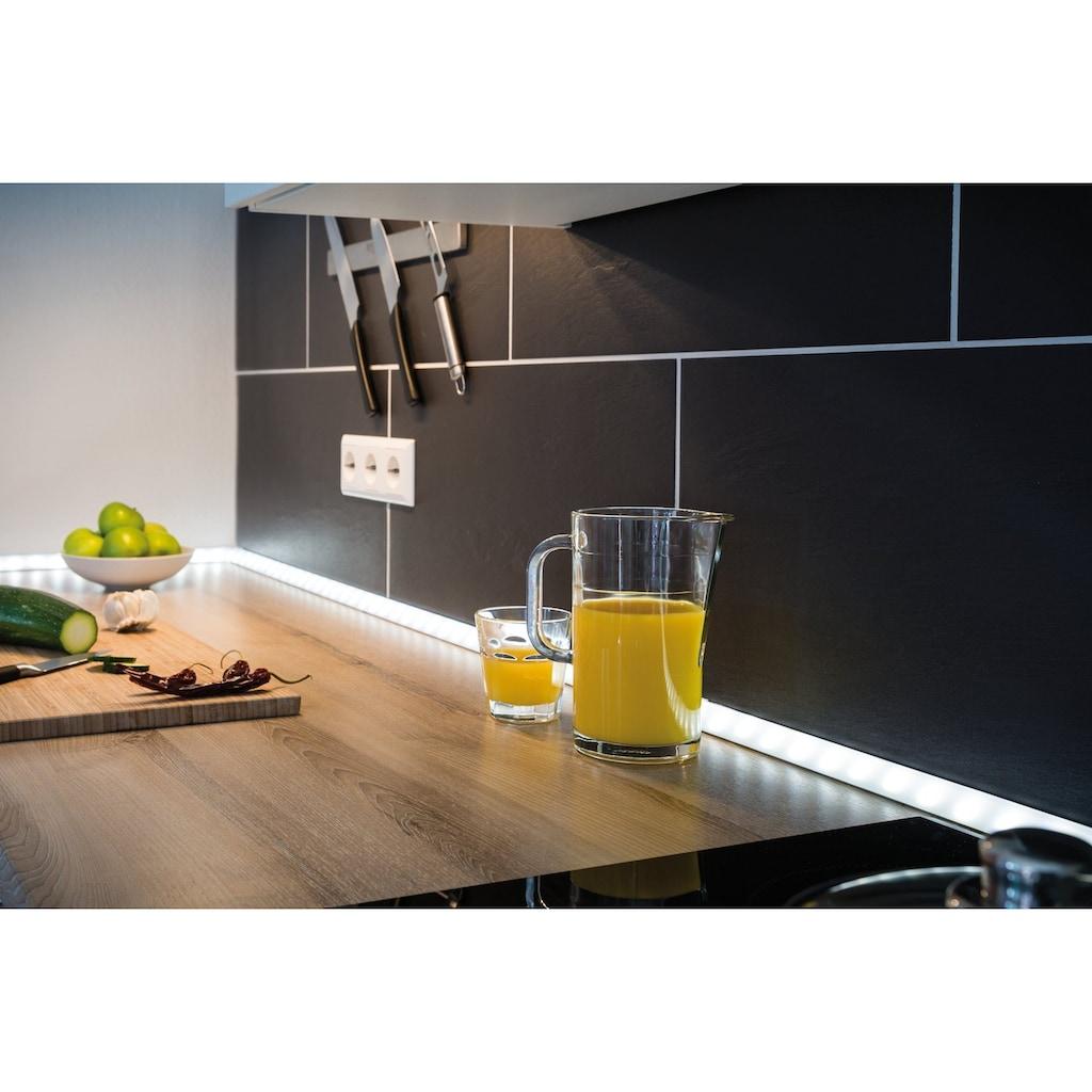 Paulmann LED-Streifen »Delta Profil mit Diffusor 1m Alu eloxiert, Satin, Alu/Kunststoff«