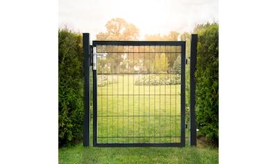 HOME DELUXE Gartentor , für Doppelstabmatten, HxL: 1,8x1,0 Meter kaufen