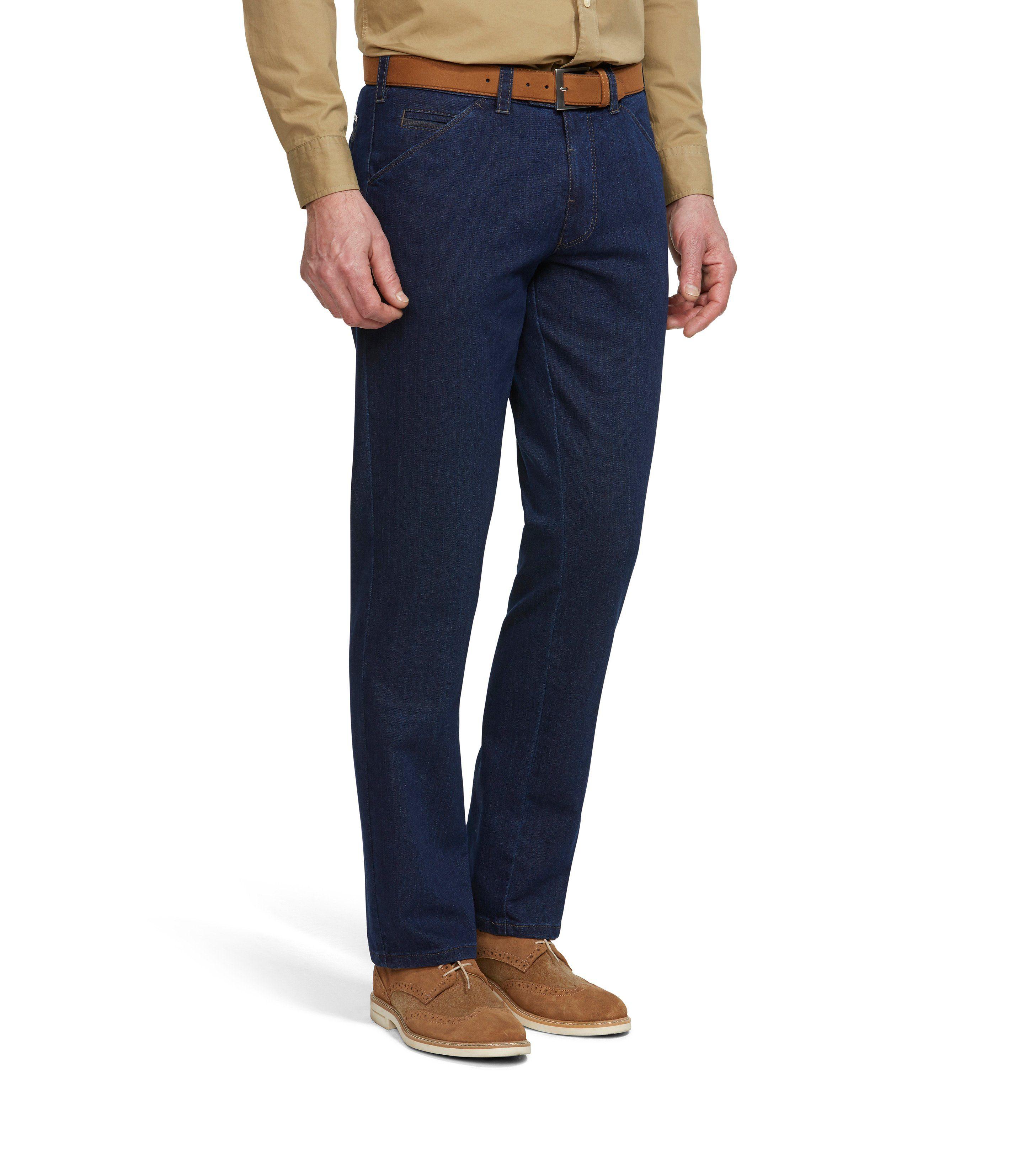 MEYER Herren Hose CHICAGO | Bekleidung > Hosen > Sonstige Hosen | Blau | Jeans - Modal | MEYER