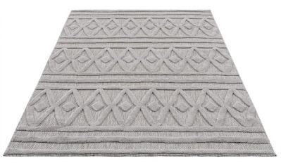 Carpet City Teppich »SANTORINI 58538«, rechteckig, 5 mm Höhe, 3D-Optik: Flor erzeugt... kaufen
