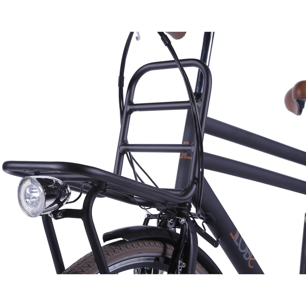 LLobe E-Bike »Rosendaal Gent 130864«, Gepäckträger vorne