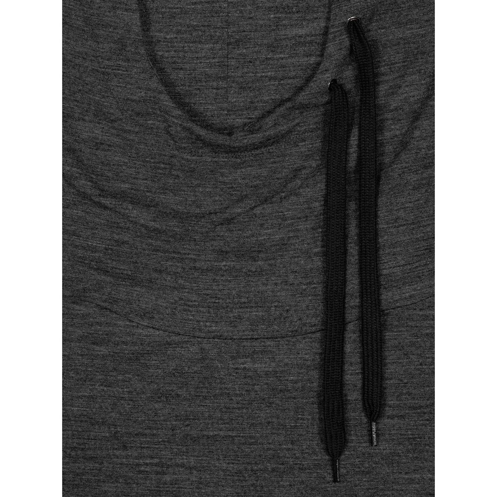SUPER.NATURAL Kapuzensweatshirt »W ESSENTIAL TUNNEL HOODIE«, perfekter Merino-Materialmix