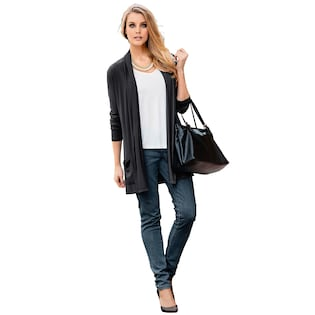 Classic Inspirationen Shirtjacke in angesagter offener Form fa778e4448