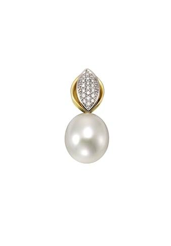 Orolino Anhänger 585/- Gelbgold Perle Brillanten kaufen