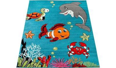 Paco Home Kinderteppich »ECE 950«, rechteckig, 14 mm Höhe, Kurzflor, Kinder Teppich,... kaufen