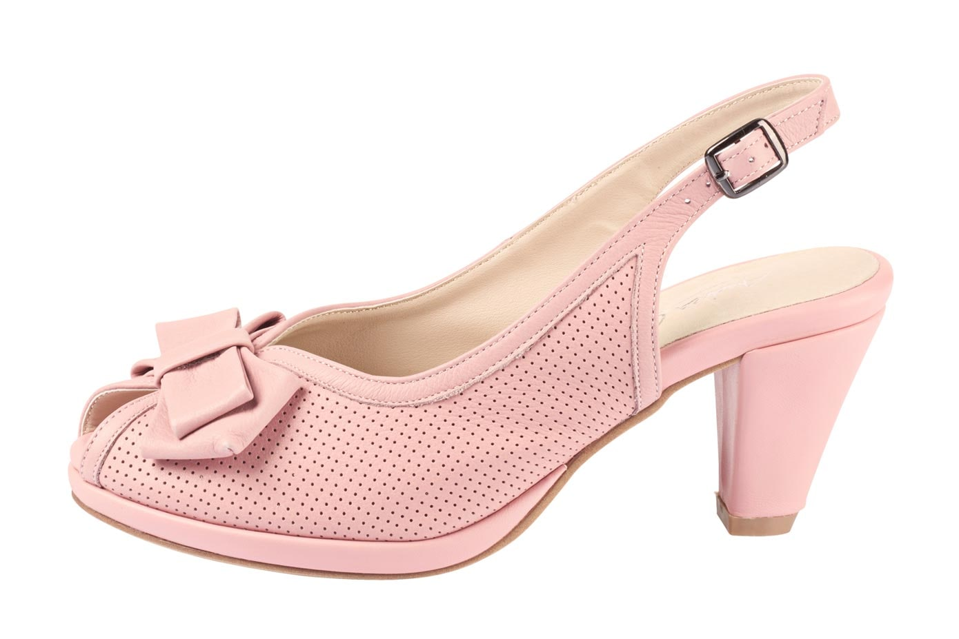 Sandalette rosa Damen Sandaletten Sandalen