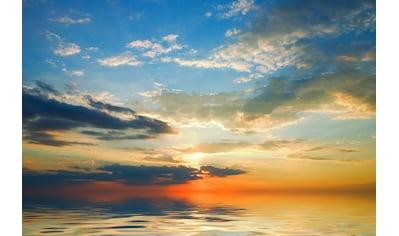 Papermoon Fototapete »Bunte Wolken«, Vliestapete, hochwertiger Digitaldruck kaufen
