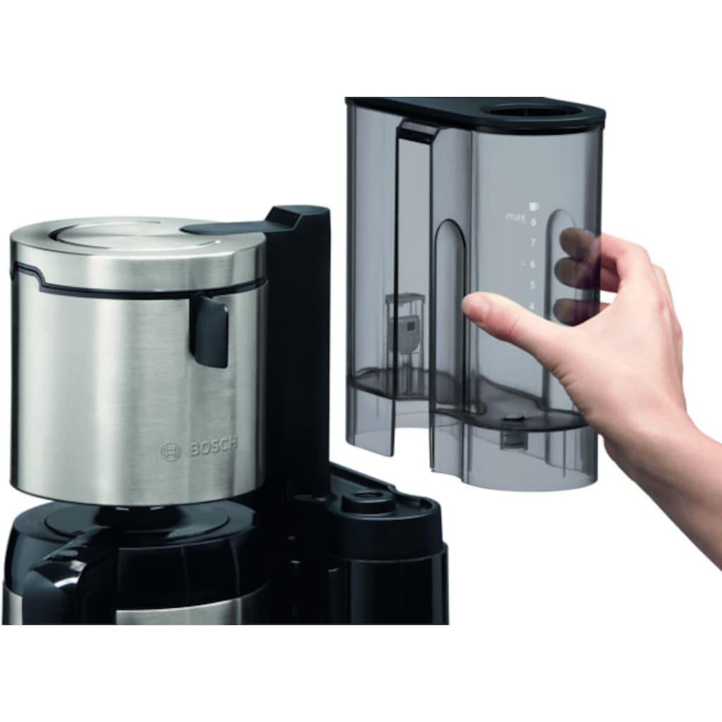 BOSCH Filterkaffeemaschine »TKA8A683 Styline«, Papierfilter, 1x4, mit Thermokanne