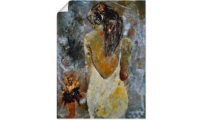 Artland Wandbild »Junge Frau« kaufen