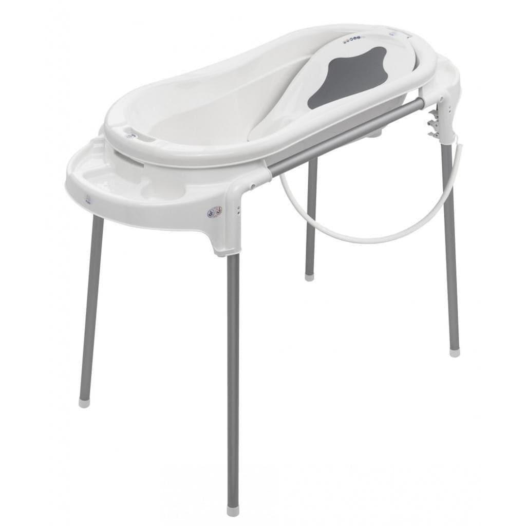 Rotho Babydesign Babywanne »TOPXtra Badestation, weiß«, auf dem Boden nutzbar; Made in Germany
