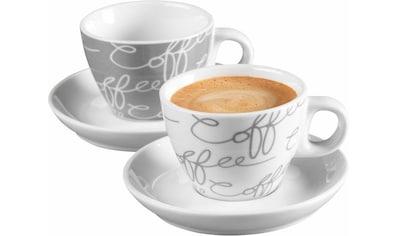 """Ritzenhoff & Breker Espressotasse """"Cornello Grey"""" (4 - tlg.) kaufen"""
