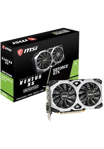 MSI GeForce GTX 1660 VENTUS XS 6G OC »High - End - Grafikkarte« kaufen