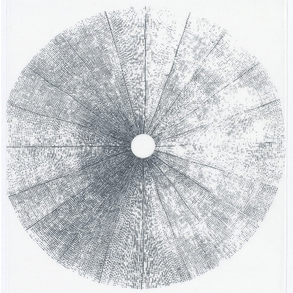 GARDINIA Schiebegardine »Flächenvorhang Stoff Tree mit weißen Paneelwagen«, HxB: 245x60