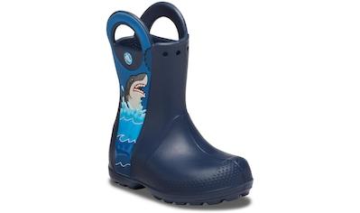 Crocs Gummistiefel »Shark Rain Boot« kaufen