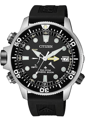Citizen Taucheruhr »Promaster Eco - Drive Aqualand 200m, BN2036 - 14E« (Set, 2 tlg., mit Verlängerungsband) kaufen