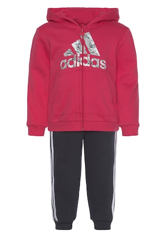 adidas Performance Jogginganzug »LOGO FULLZIP HOOD FLEECE«, (Set, 2 tlg.) kaufen
