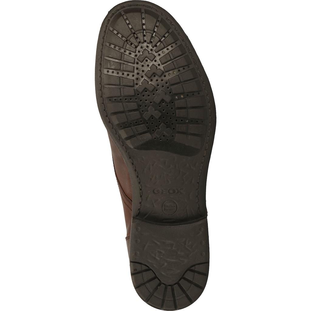 Geox Schnürstiefelette »Leder«