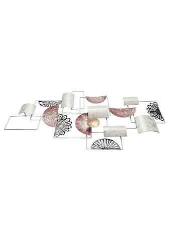 Wanddeko mit verschiedenen Metallelementen kaufen