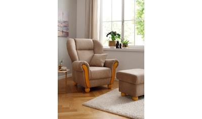 Home affaire Loungesessel »Milano Vintage«, hoher Sitzkomfort mit hoher Rückenlehne,... kaufen