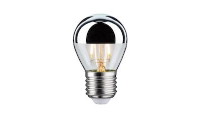 Paulmann »Retro - Tropfen 4,5W E27 Kopfspiegel Silber Warmweiß dimmbar« LED - Leuchtmittel, Warmweiß kaufen