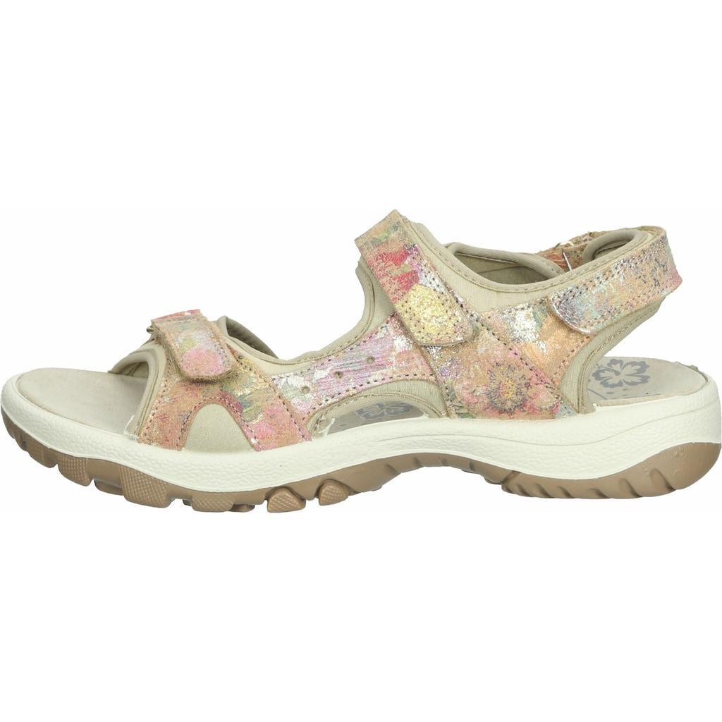 Imac Sandale »Velourleder/Textil«