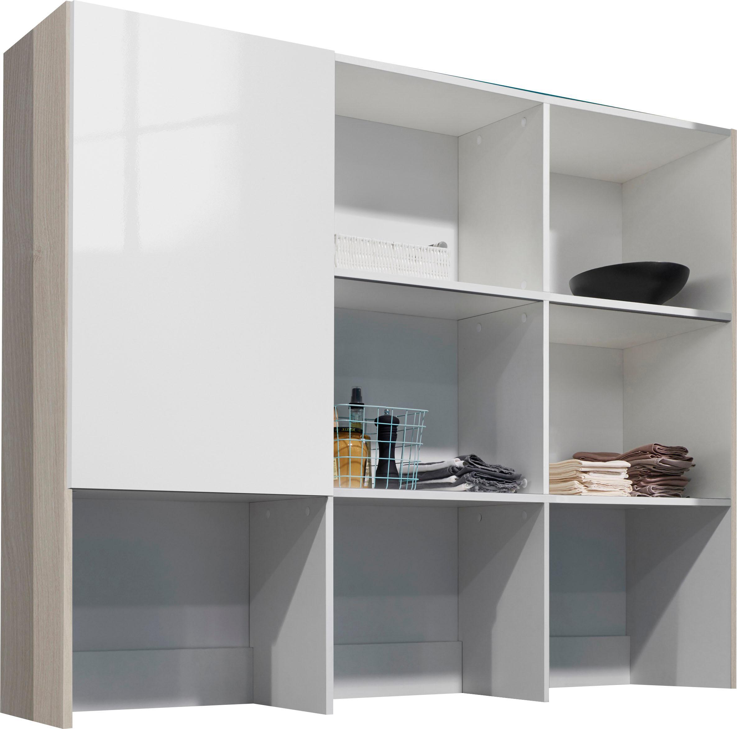 OPTIFIT Aufsatzregal Bern weiß Zubehör für Kleiderschränke Möbel Möbelaufsätze