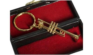 Ambiente Haus Dekofigur »Schlüsselanhänger Trompete 7cm« kaufen