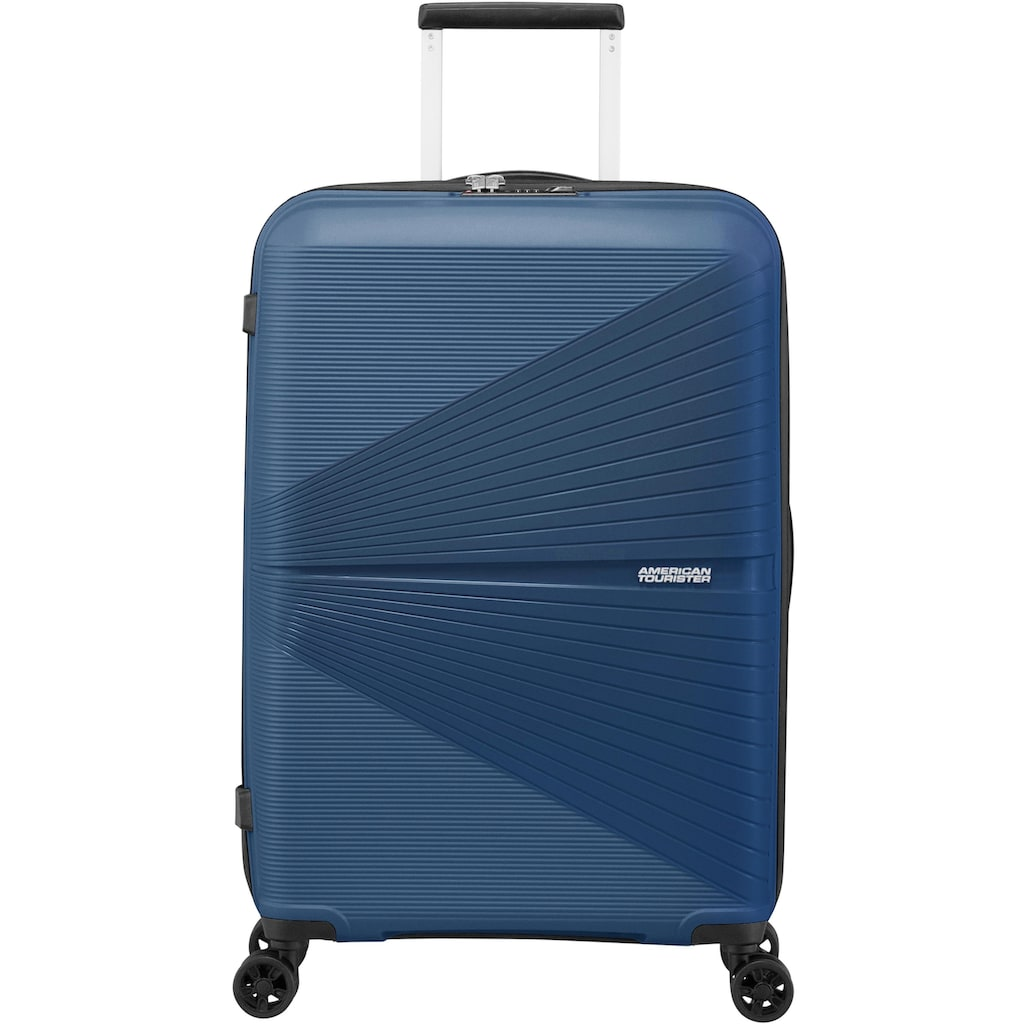 American Tourister® Hartschalen-Trolley »Airconic, 67 cm, midnight navy«, 4 Rollen