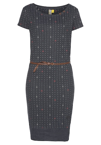 Alife & Kickin Jerseykleid »CocoAK«, (Set), Sommerkleid mit kleinem Flechtgürtel kaufen