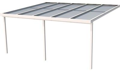 GUTTA Terrassendach »Premium«, BxT: 510x406 cm, Dach Polycarbonat Opal kaufen