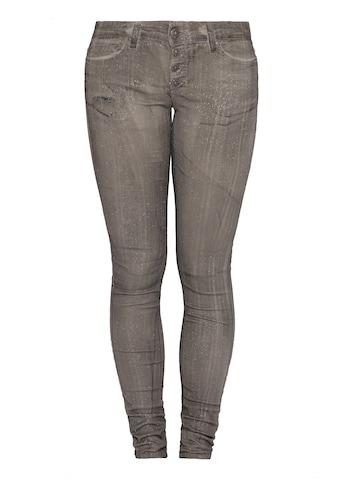 Blue Monkey Skinny-fit-Jeans »BM23 Nena grey« kaufen