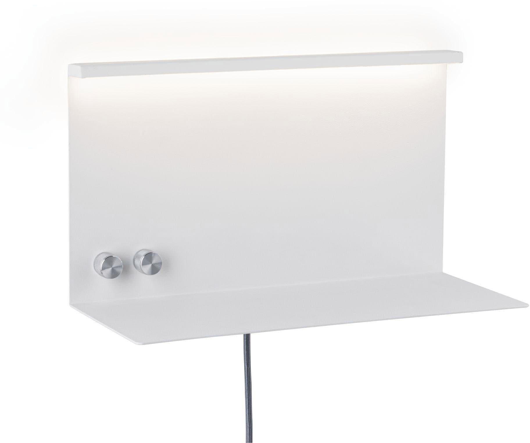 Paulmann LED Wandleuchte Jarina mit Ablage 4,5 W/ 1,6 W