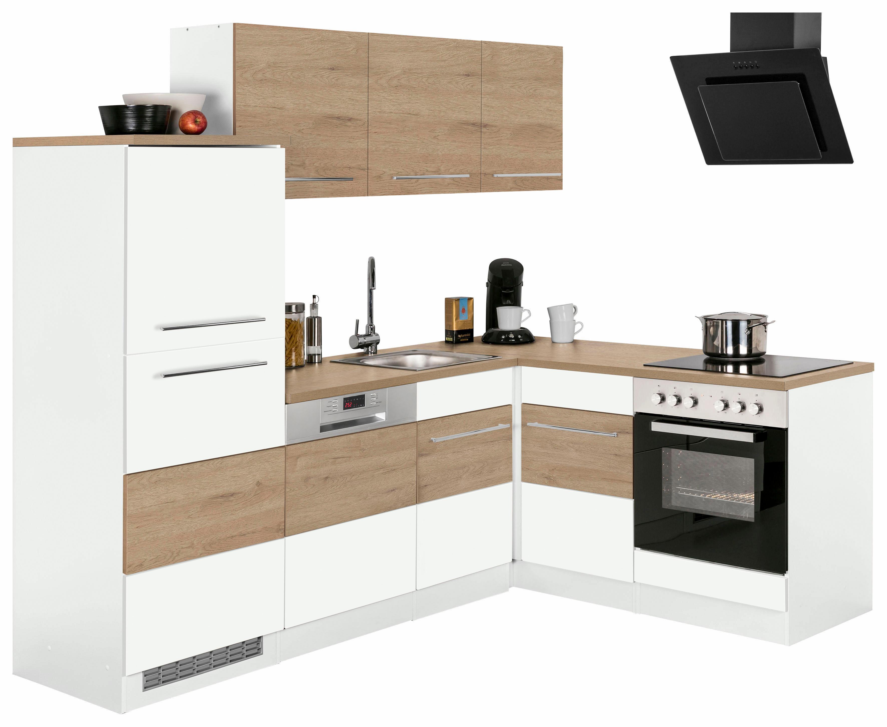 Bildquelle: Winkelküche »Trient«, Ohne E Geräte, Stellbreite 230 X 170 Cm