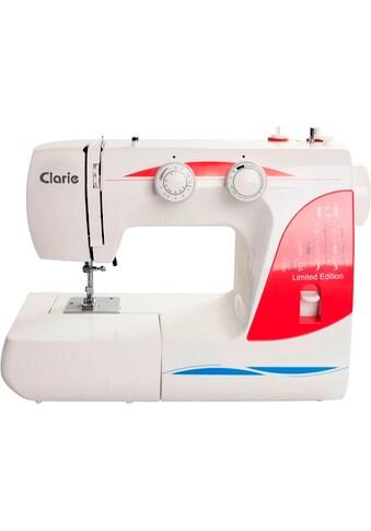 Clarie Nähmaschine »SET-12503 mit Nähmaschinentasche&21 tlg. Nähgarnset«, 17 Programme kaufen