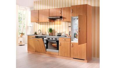 wiho Küchen Küchenzeile »Prag«, mit E-Geräten, Breite 280 cm kaufen