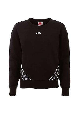 Kappa Sweatshirt »HELLA«, mit hochwertigem Jacquard Logoband kaufen
