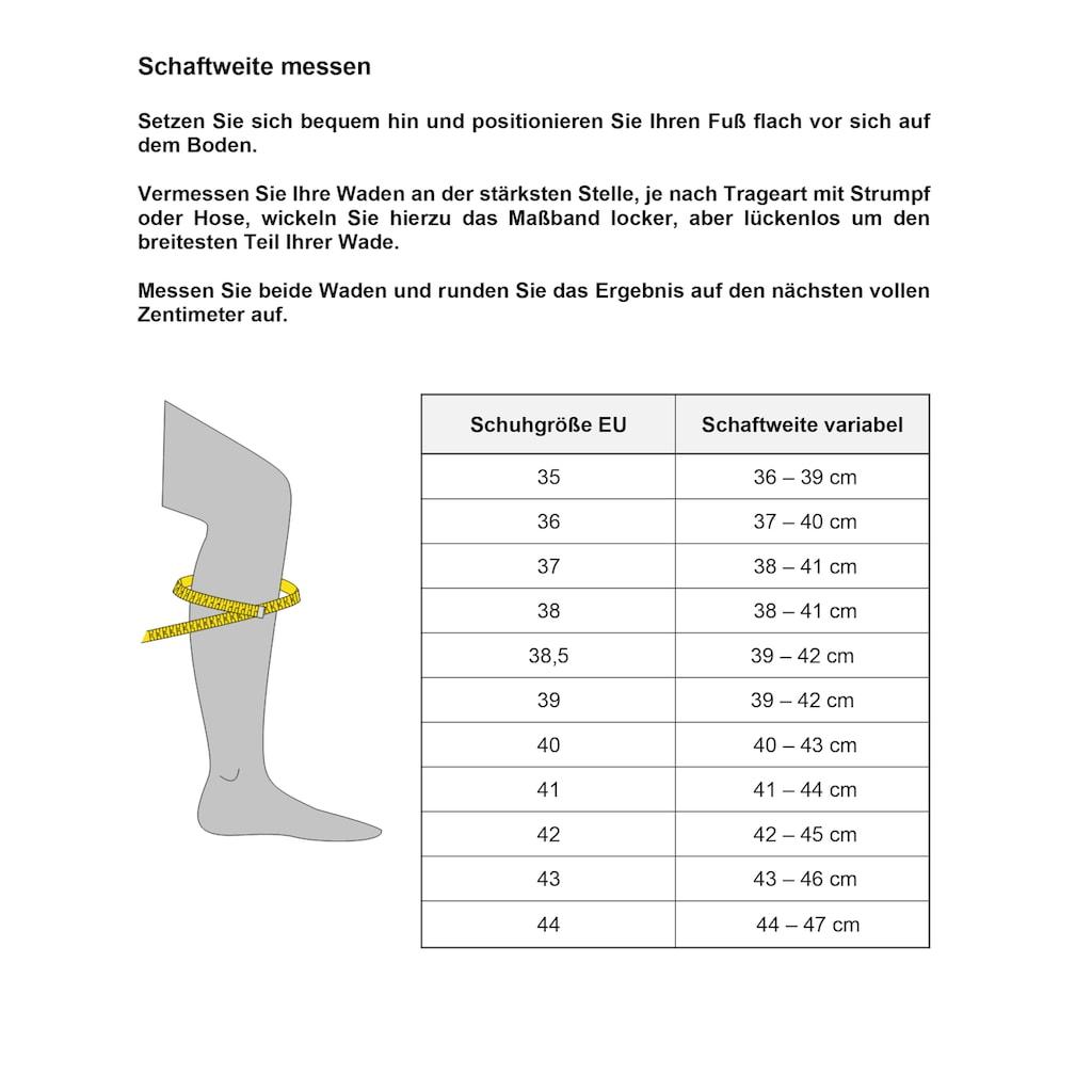 Gabor Stiefel »RHODOS«, in Schuhweite G (=weit)