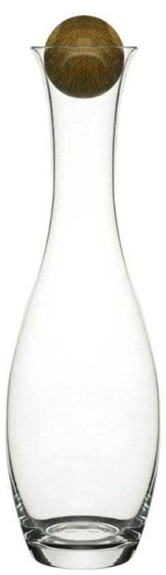 sagaform Wasserkaraffe, für Wein und Wasser, 1 Liter farblos Karaffen Gläser Glaswaren Haushaltswaren Wasserkaraffe
